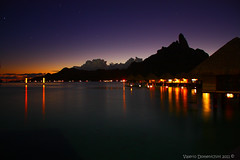 When the night ... has come ... and the land is dark ...... (ONEshotONEemotion) Tags: sunset borabora lemeridien theinspirationgroup valeriodomenichini fotodelmese201111romamor