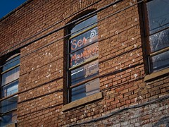 Sea Monkeys (Red Mountain Images) Tags: sign birmingham alabama seamonkeys birminghamalabama