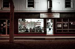 DSC_0267 (Destro Tull) Tags: longexposure night newfoundland nikon closed downtown stjohns lighttrails d90 powerlite nikond90