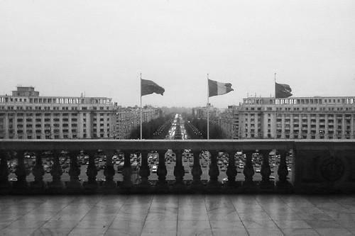 Ceausescu Palace in Bucharest, Romania