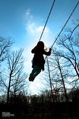 Day 78|366 - I Believe I Can Fly (∞ RedLoop ∞) Tags: blue sky sunshine silhouette kids children spring swings flight dreams swingset swinging soaring qualitytime ibelieveicanfly project366 ∞redloop∞ theateamrallyingforaurelia