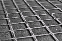 [the grid] (RHiNO NEAL) Tags: bw white black texture grid squares graph gritty rhino neal rhinoneal