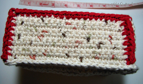 Crochet trinket box