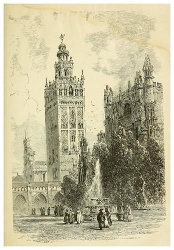006-La Giralda de Sevilla-Spain-1881-Edmondo De Amicis-ilustrado por W. Vilhelmina Cady
