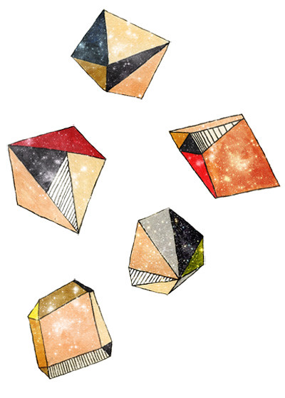 geometric asteroids