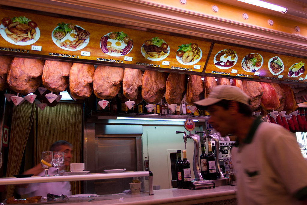 Museo del Jamon, Madrid, Spain