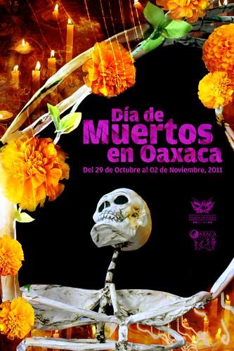 Poster Día de Muertos 2011 Ciudad de Oaxaca