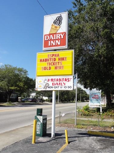 Dairy Inn sign