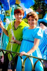 Peter Pan and Wendy (abelle2) Tags: peterpan disney disneyworld wdw waltdisneyworld wendy magickingdom wendydarling