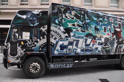 Banksy - Turbozone Circus truck