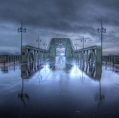 Asahibashi Bridge on OCT -7, 2011 (wakkanai097) Tags: japan hokkaido hdr asahikawa 100commentgroup bestcapturesaoi ringexcellence dblringexcellence artistoftheyearlevel3 artistoftheyearlevel4 musictomyeyeslevel1 artistoftheyearlevel5