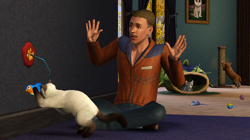 The Sims 3 Pets Console Cats