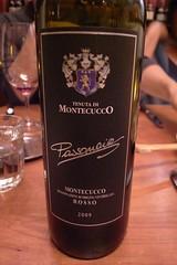 """2009 Tenuta di Montecucco """"Passonoio"""""""