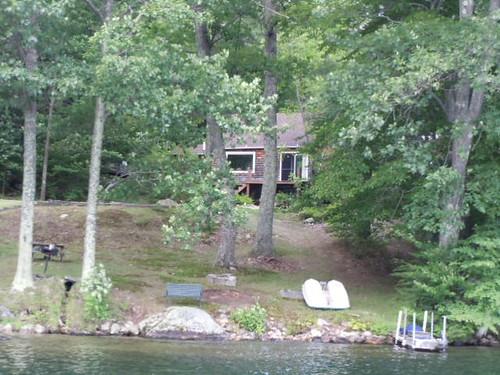 Newbury vacation cottage rental: Blodgett's Landing - Lake Sunapee