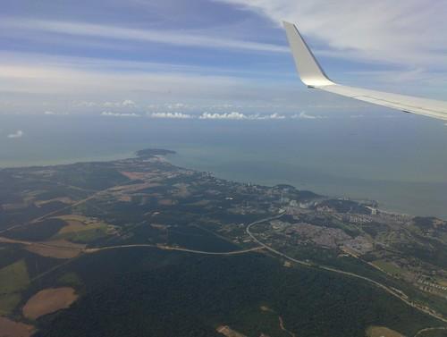 On Approach to Kuala Lumpur