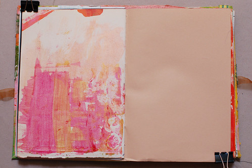Journal of Scraps I: pink & gold