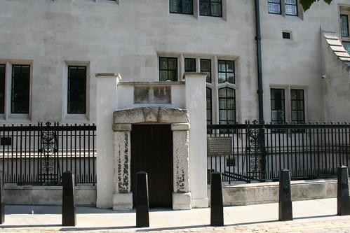 The prison door