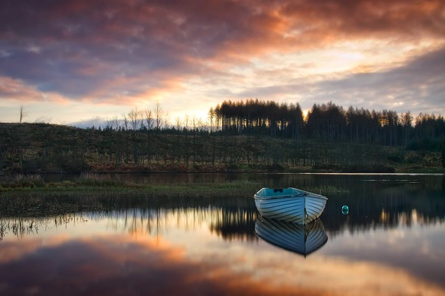 Loch Rusky morning light...