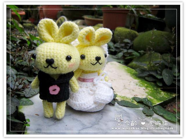 兔子.婚禮娃娃6