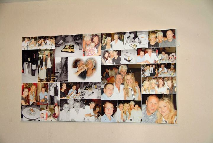 40 X 22 Inch collage Ł69 As many photos as u like !!! Free UK Delivery Canvas Only In Tube Ł33 Incl Airmail