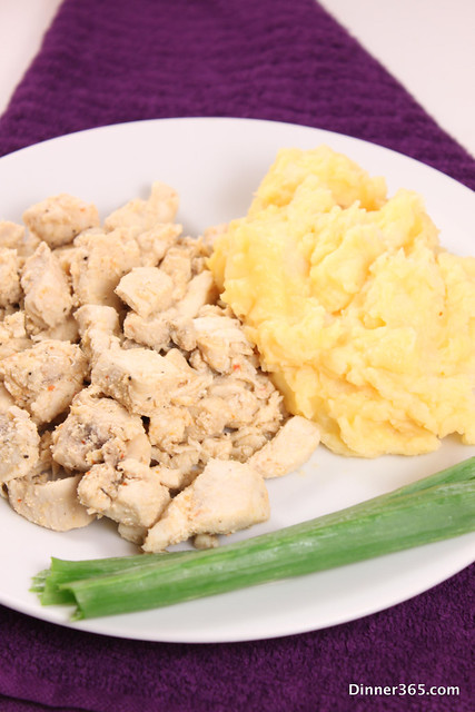 Day 288 - Chicken and Mashed Cheddar Potatoes
