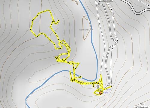 2011-9-10 鳩之澤步道map