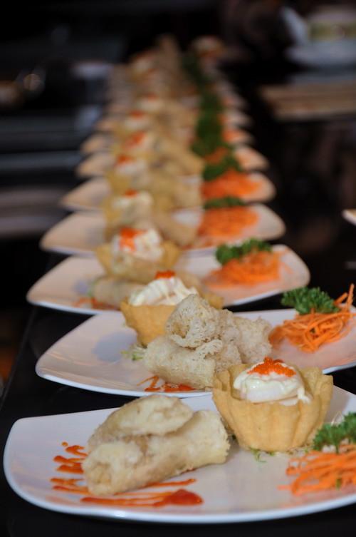 crispy seafood spring roll