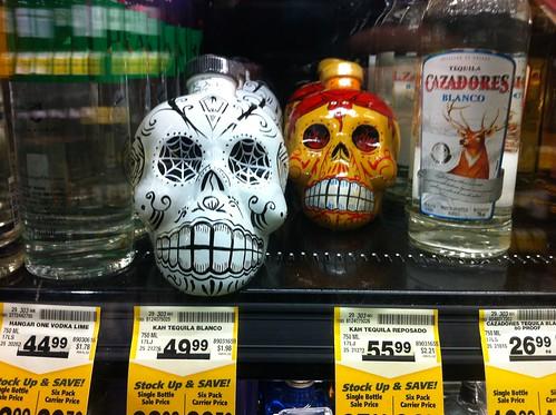 Tequila for Día de los Muertos