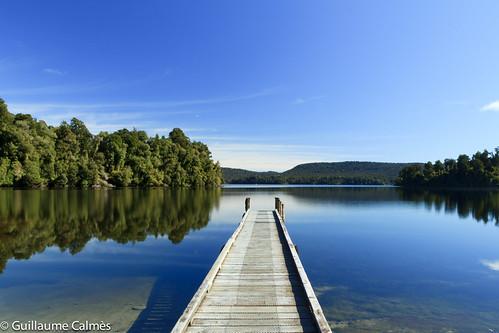 Lake Mapourika, Waiho, West Coast, New Zealand #2 by flyin'gratman