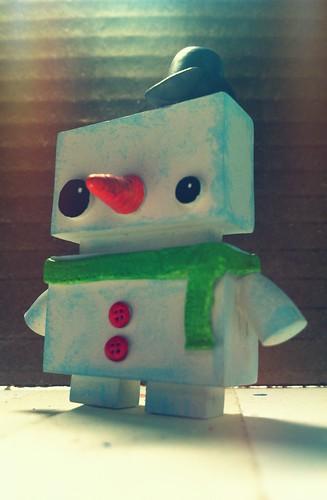 JellyBot Snowman by [rich]