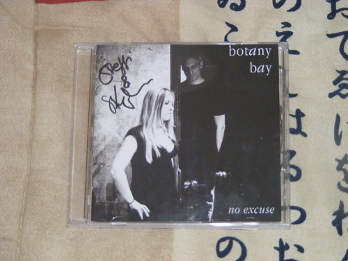 "Coffret dédicacé de l'EP ""No excuse"" de Botany Bay"