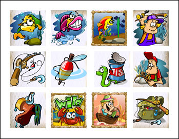 free Lucky Fishing slot game symbols