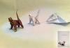 Origami Monkey Evolution :)