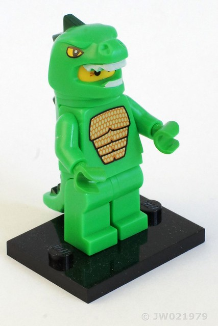 Lego Lizard Man Minifigure