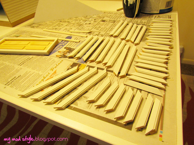 My Dollhouse - Primed Window Trim