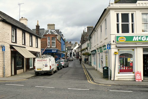 A side street in Moffat