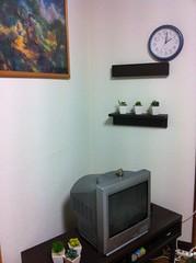 無印良品 壁に付けられる家具の写真