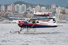 C-FAOP - Saltspring Air - DHC-2 Beaver (bcavpics) Tags: canada vancouver plane airplane harbour britishcolumbia aviation air beaver saltspring seaplane floatplane dehavilland dhc2 cyhc bcpics cfaop