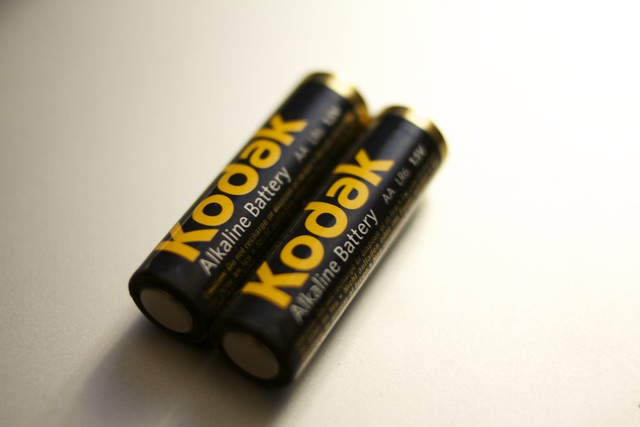 Kodakアルカリ電池