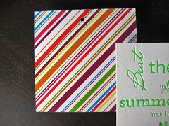 Bella Flora Letterpress Tags
