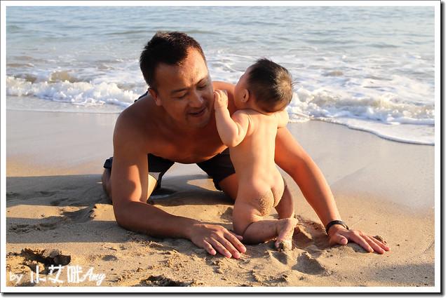 20111020墾丁小灣戲水IMG_5377