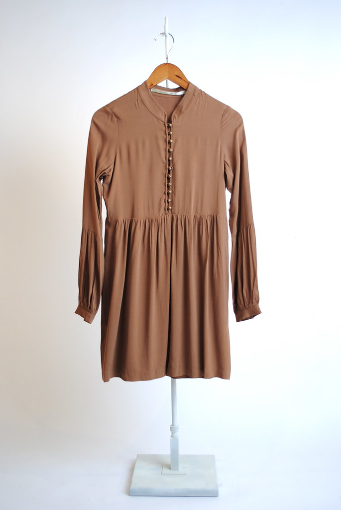 Henley Bell Sleeve Dress