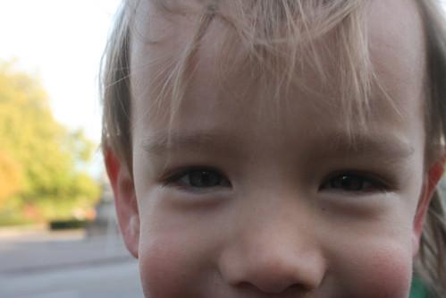 Twinkle in eyes