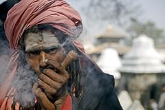 Chilum time (PawelBienkowski) Tags: nepal pipe smoking kathmandu smokers hinduism baba sadhu mela pashupatinath ganja travelphotography shivaratri mahashivaratri chilum flickrsbest ascetics shilom lifeinnepal hinduisminnepal