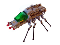 CSR 623 - Space Spider (Crimso Giger) Tags: bug spider lego space vehicle mecha mech csr moc 8legs classicspace classicspacerevival