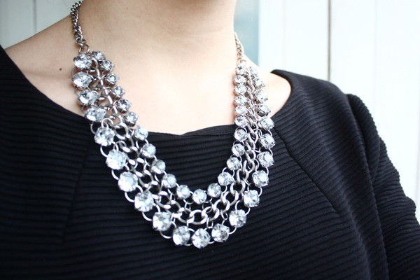 forever 21 crystal necklace