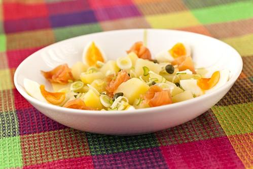 Ensalada de patates i salmó 1