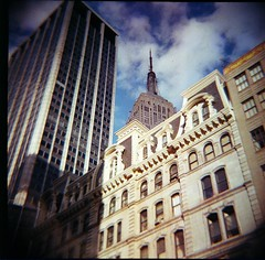 Lomography analog 120MM film Diana Diana+ NYC New York City New York Architecture Buiding buildings design design architect Empire State Building (moonman82) Tags: nyc newyorkcity newyork nature architecture composition analog buildings design town lomography construction habit character content structure formation architect diana frame type empirestatebuilding form essence build contents physique buiding temper habitus disposition vitality temperament 120mmfilm townnewyork picturesofcitybuildings