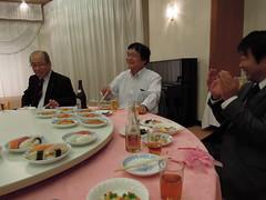 左より川島議員、一関議員、小林議員