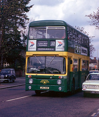 AN13 Garston 14 April 1973 (national_bus_510) Tags: nbc parkroyal nationalbuscompany leylandatlantean londoncountrybusservices lcbs pdr1a1special